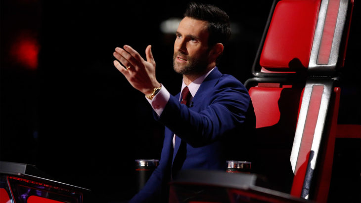 Adam Levine en The Voice
