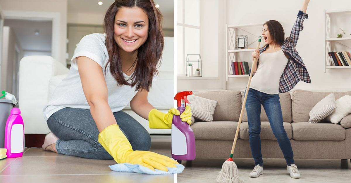 Estudio revela que una casa limpia te hace más feliz