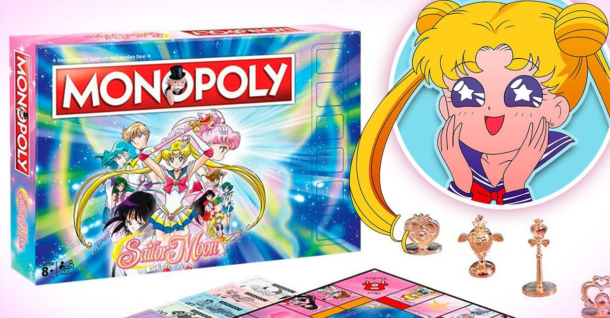 Monopoly lanza una versión especial inspirada en Sailor Moon y la necesitamos