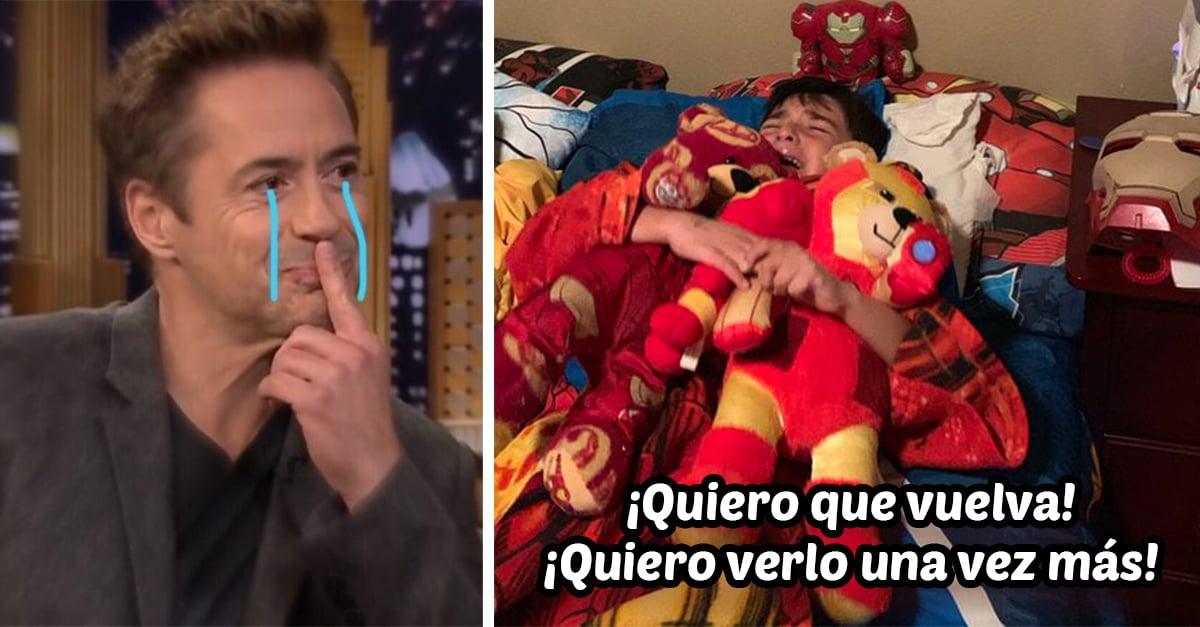 Niño llora hasta dormirse después de ver 'Avengers: Endgame'