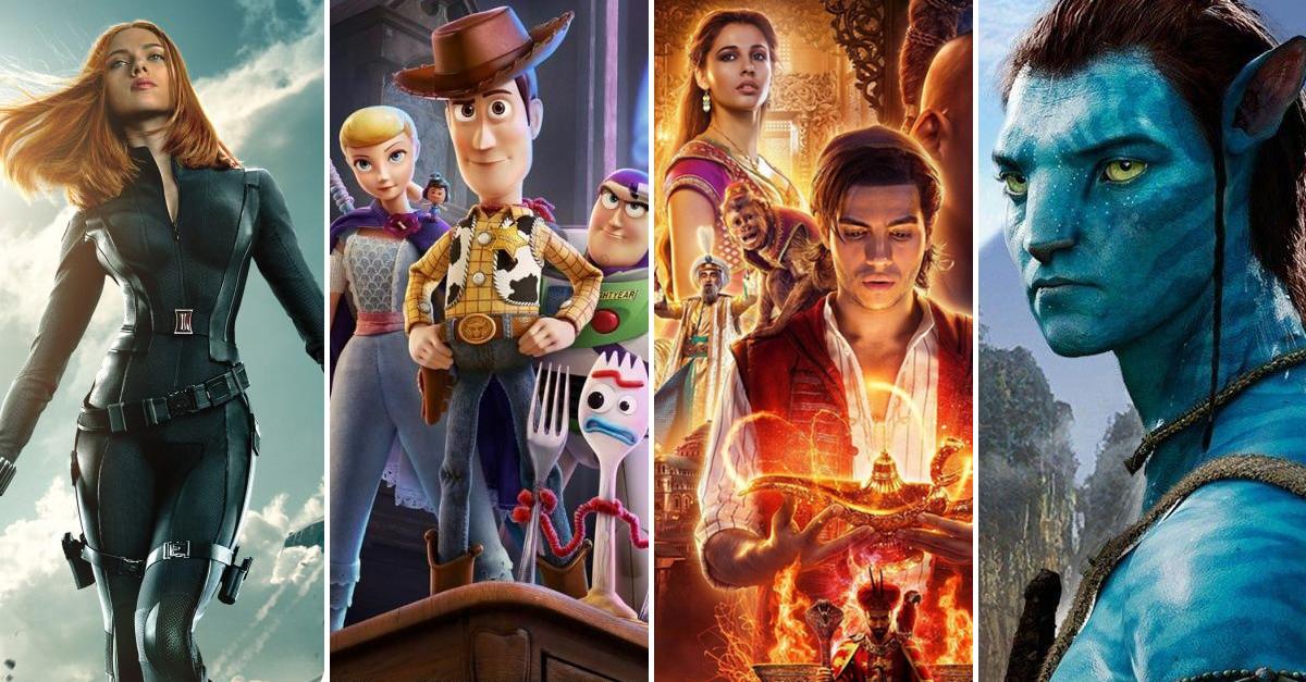 Disney anuncia todas las películas que estrenará desde hoy hasta el 2027