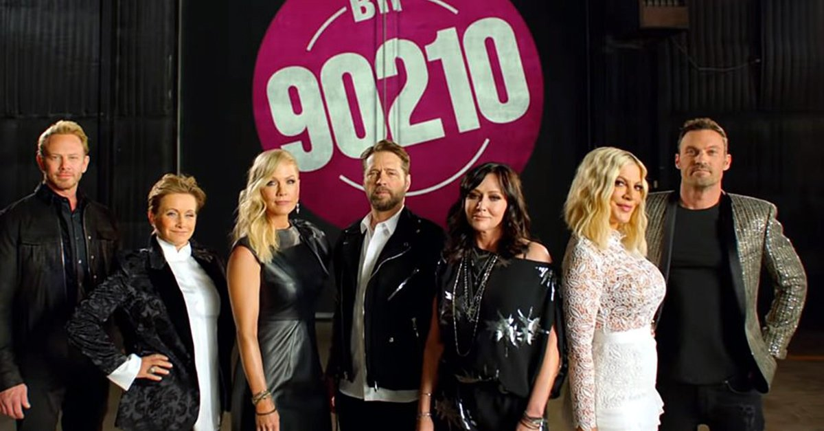 'Beverly Hills 90210' está de regreso y no te la puedes perder
