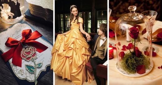 17 Mágicas ideas para una quinceañera digna de 'La Bella y la Bestia'