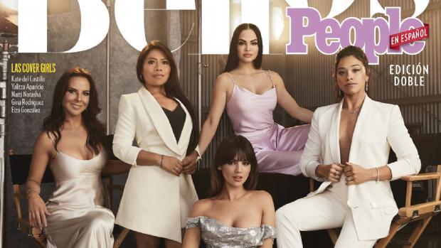 Yalitza Aparicio en la portada de la revista People en Español, al lado de otras mexicanas