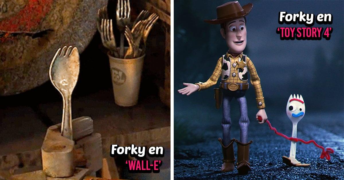 6 Referencias al universo Pixar que aparecieron en 'Toy Story 4'
