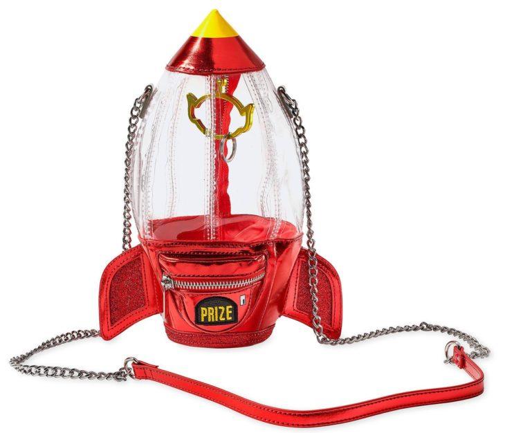 Bolso en forma de cohete inspirado en Toy Story