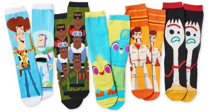 Calcetines con dibujos animados de Toy Story