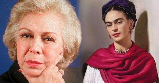 No es Frida, es mi voz: Amparo Garrido