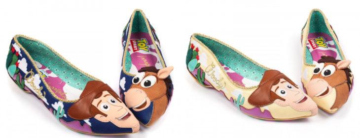 Zapatos decorados con personajes de Toy Story