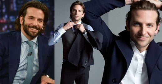 20 Fotos de Bradley Cooper que te harán decir: ¡a mí me gustan mayores!