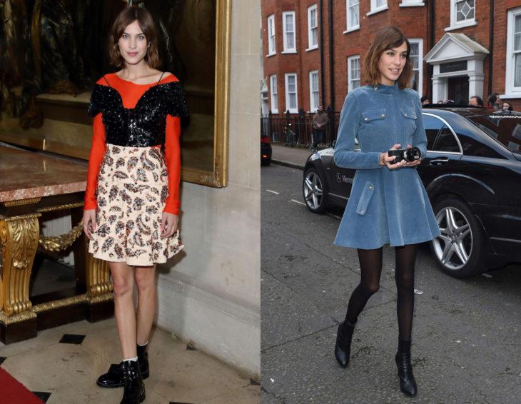 Cómo se ven la críticas de moda; Alexa Chung