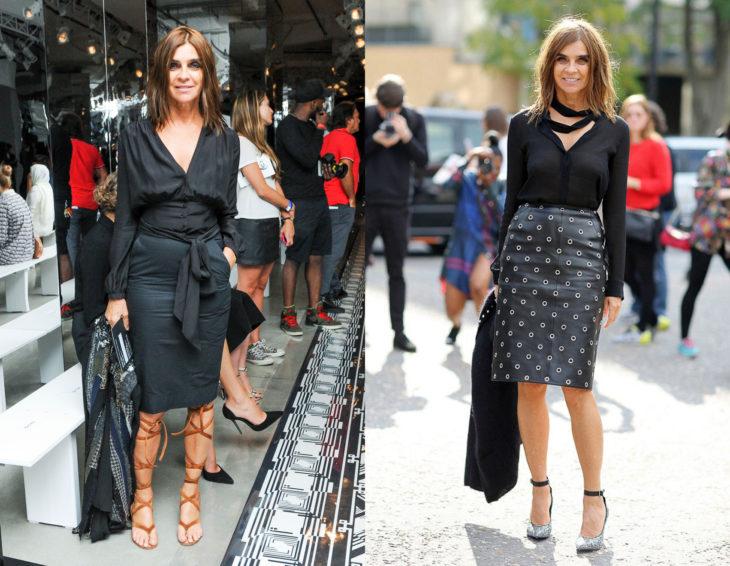 Cómo se ven la críticas de moda; Carine Roitfed
