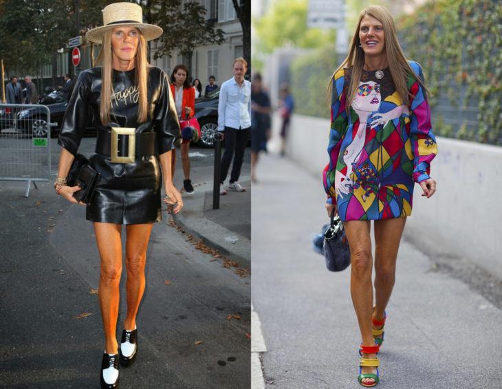 Cómo se ven la críticas de moda; Anna Dello Russo