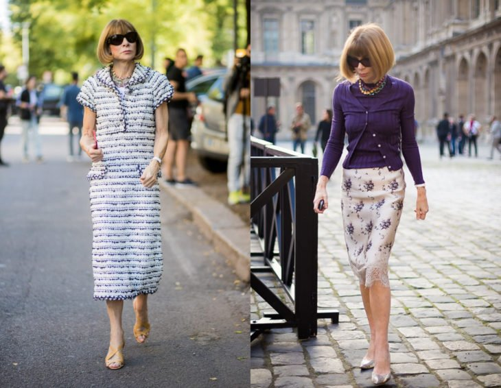 Cómo se ven la críticas de moda; Anna Wintour