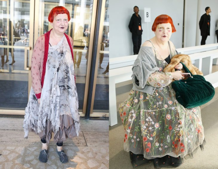 Cómo se ven la críticas de moda; Lynn Yaeger