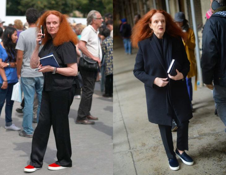 Cómo se ven la críticas de moda; Grace Coddington