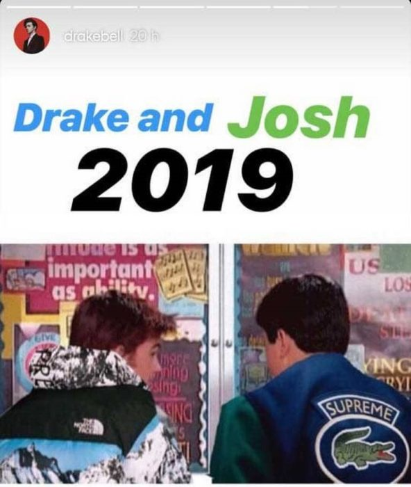 Vuelve la serie de Nickelodeon, Drake y Josh, con Drake Bell y Josh Peck