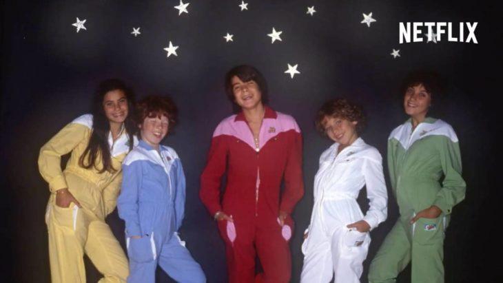 """Cantantes del grupo infantil de los 80 """"Parchis"""""""