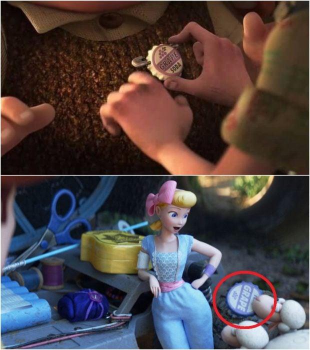 Escena de Toy Story 4, las ovejas junto a Bee Bo