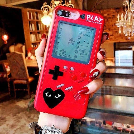 Fundas para celular tamaño extra grande con diseño de game boy de 1990