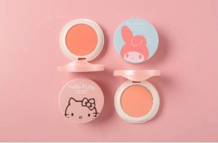 rubor de nueva línea cosméticos Hello Kitty por Miniso