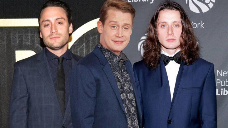 Kieran, Macaulay y Rory Culkin