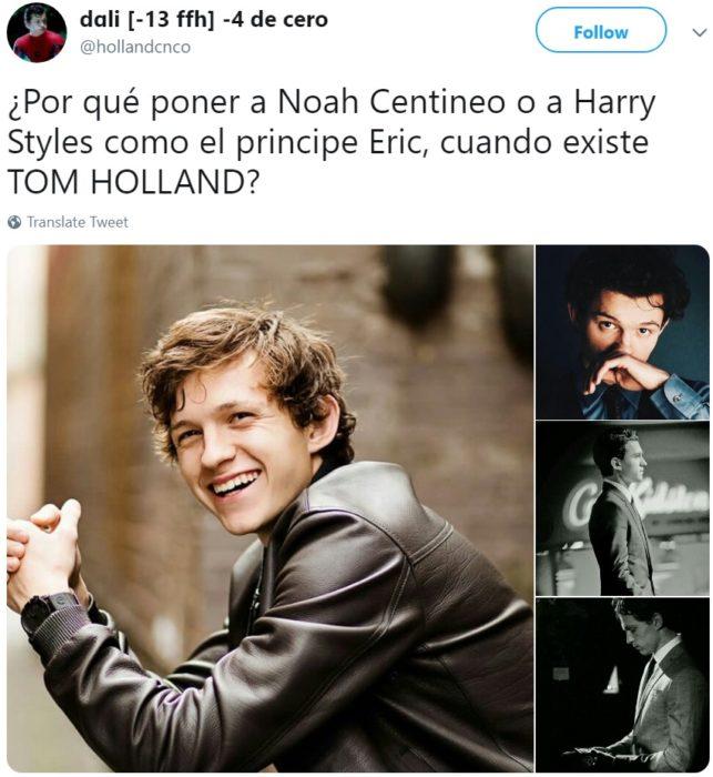 Rumores sobre el reparto de La Sirenita live action apuntan a que Noah Centineo o Harry Styles podrían interpretar al príncipe Eric
