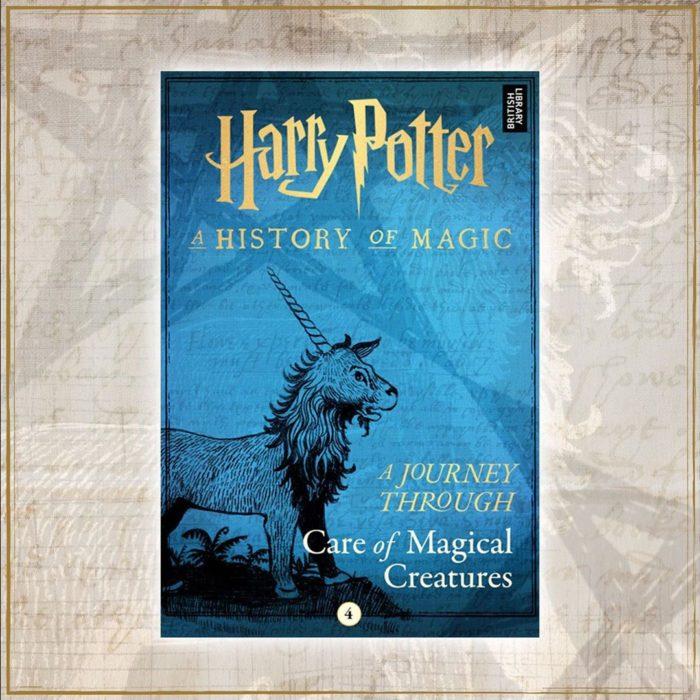 Portada del libro Harry Potter: Un viaje a través del cuidado de las criaturas mágicas