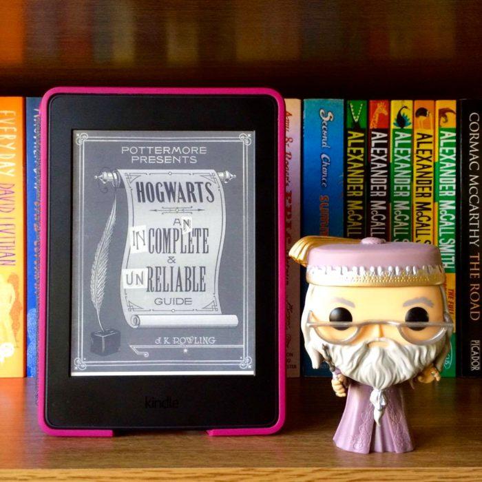 Portada del libro Historias cortas de Hogwarts de heroísmo, dificultades y hobbies peligrosos