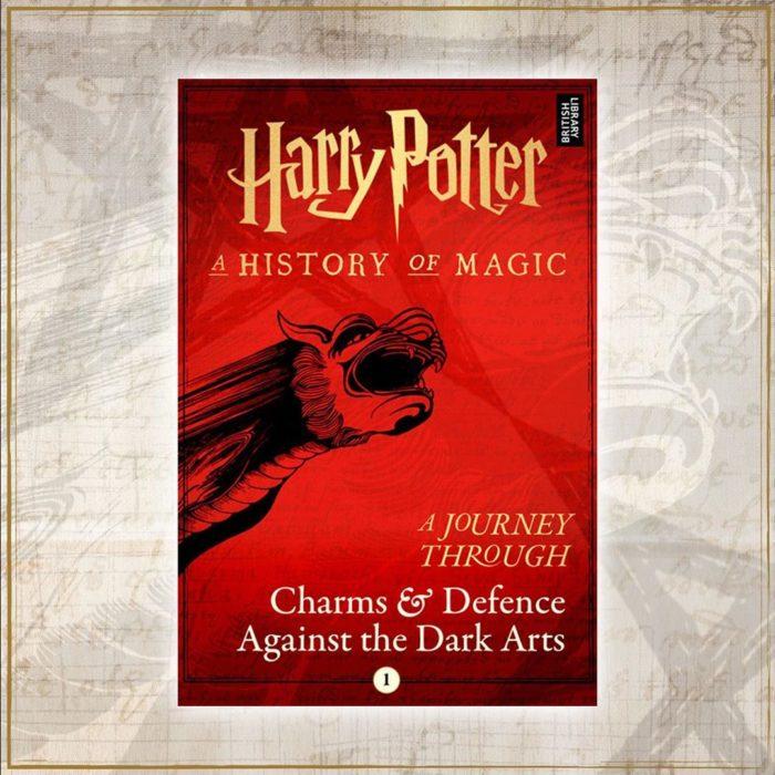 Portada dle libro Harry Potter: Un viaje a través de los encantamientos y la defensa contras las artes oscuras