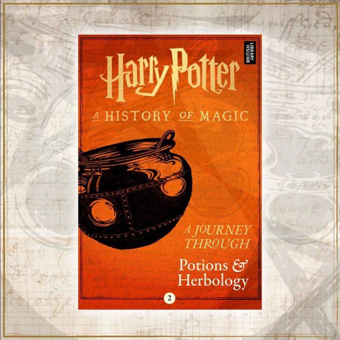 portada dle libro Harry Potter: Un viaje a través de las pociones y la herbología