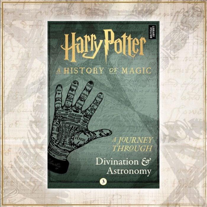 Portada del libro Harry Potter: Un viaje a través de la adivinación y la astronomía