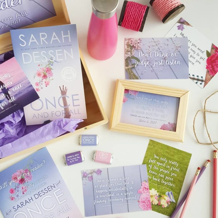 Portada del libro Once and for all de Sarah Dressen
