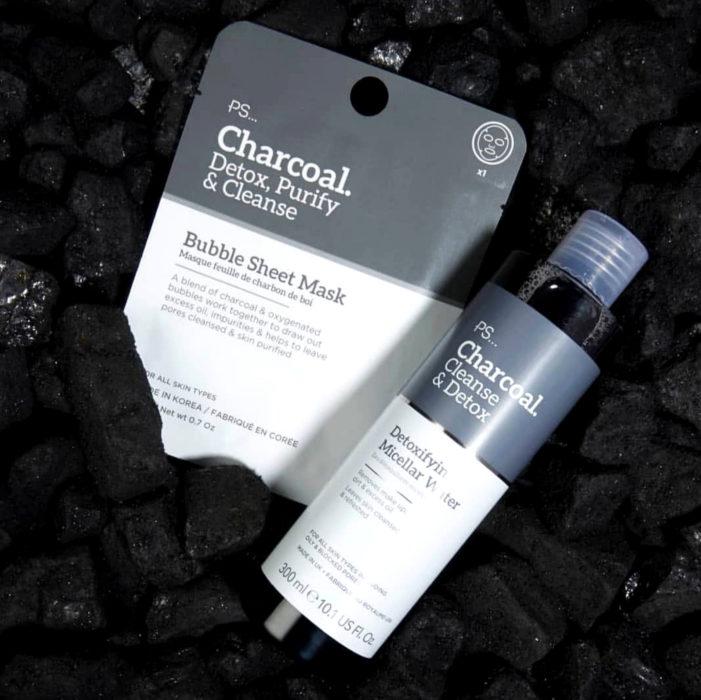 Mascarilla de carbón activado efervescente para limpiar a profundidad los poros