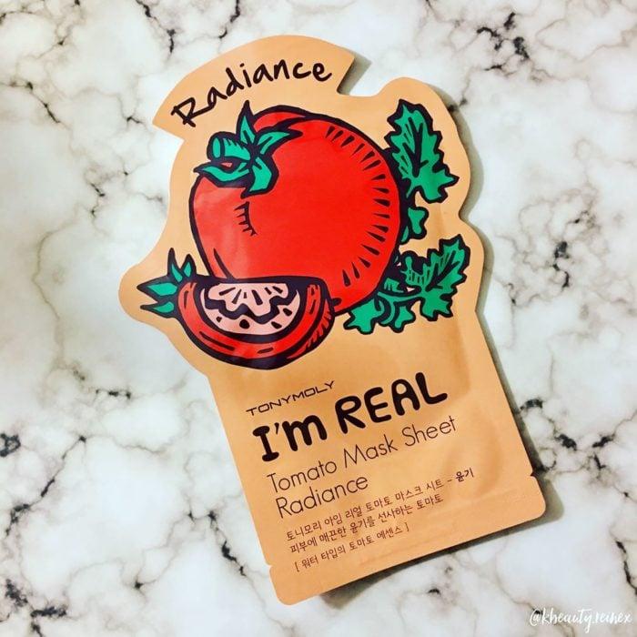 Mascarilla de tomate con antioxidantes, disminuye espinillas y manchas