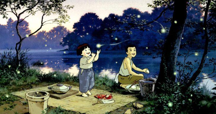 Mejores películas de animación; la tumba de las luciérnagas