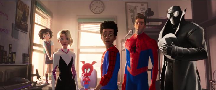 Mejores películas de animación; Spider-Man: un nuevo universo