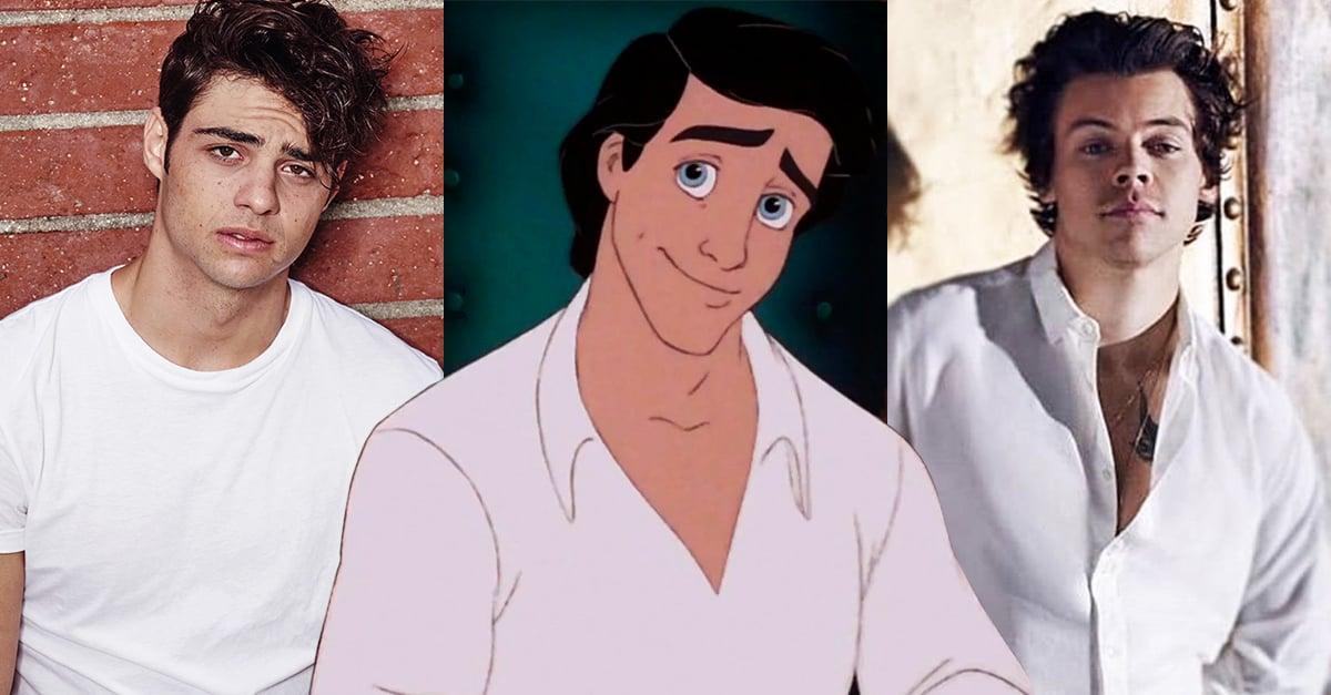 Harry Styles y Noah Centineo, los favoritos de Twitter para interpretar al príncipe Eric