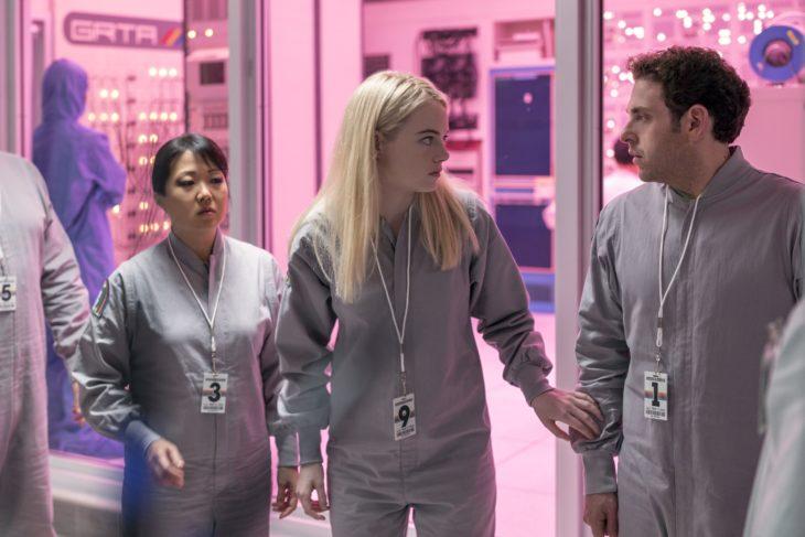 Películas y series en Netflix; Maniac con Emma Stone y Jonah Hill como Annie y Owen
