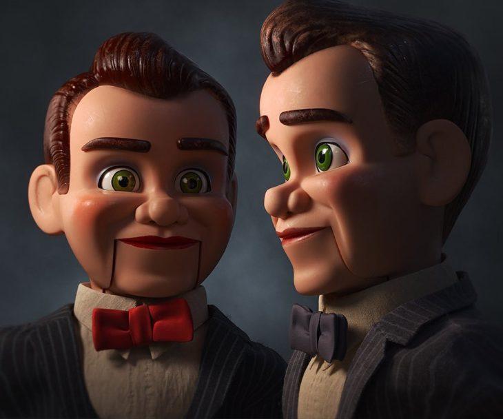 Escena de la película Toy Story 4. Muñeco de la serie escalofríos