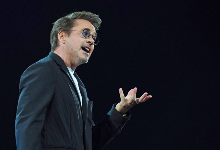 Actor Robert Downey Jr. que interpreta a Iron Man quiere salvar al planeta con tecnología