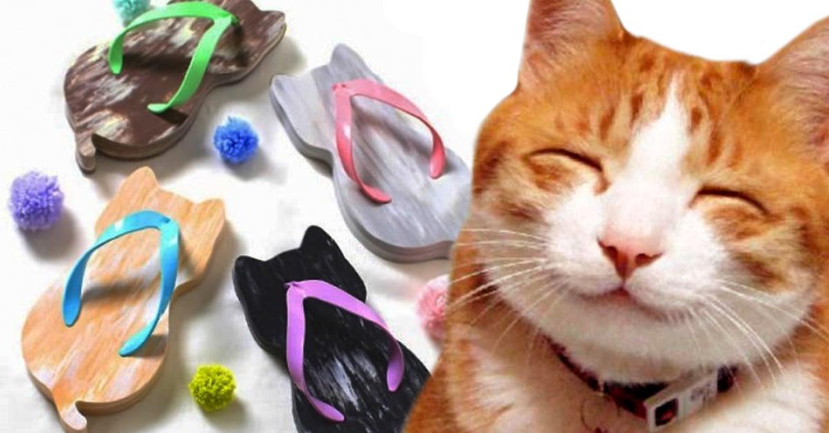 Estas sandalias de gato serán tus preferidas en verano