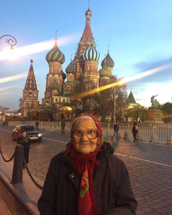 Yelena Yerjova superabuela viajera en Rusia