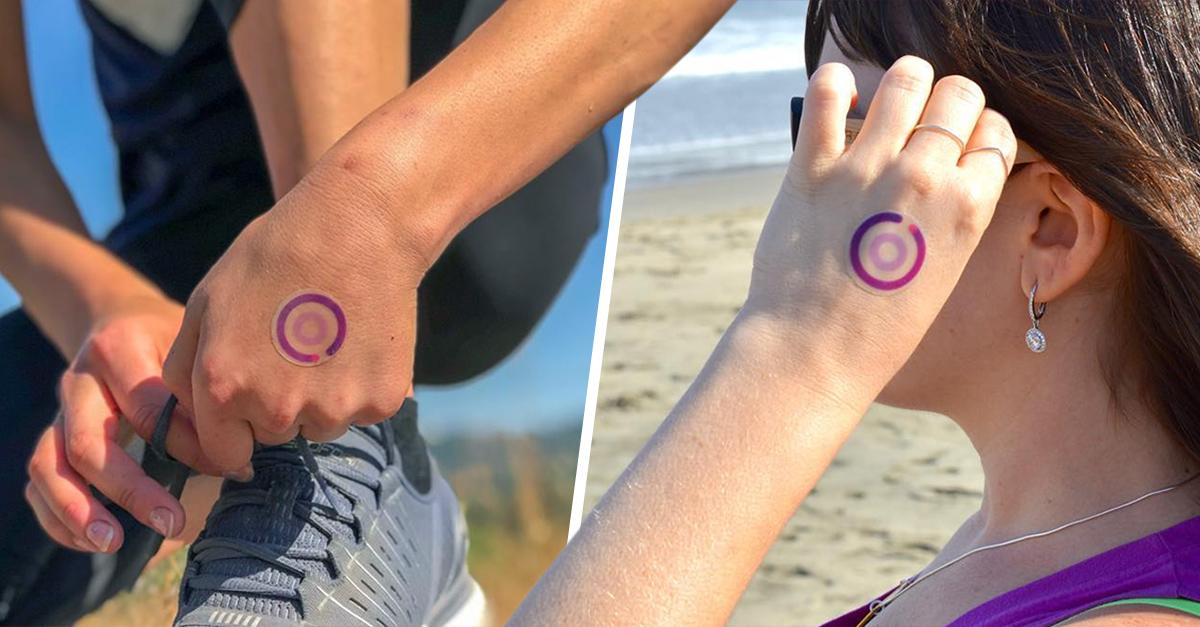Tatuajes temporales miden la exposición al sol