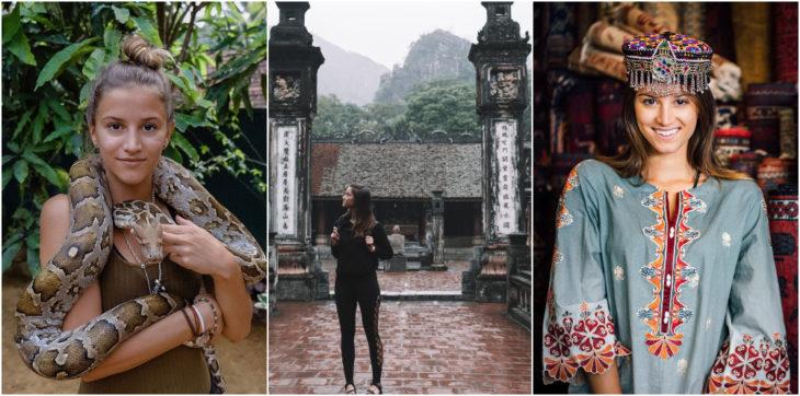 Lexie Alford viajando alrededor del mundo