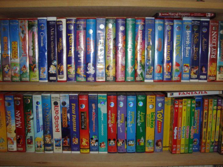 Películas de Disney VHS están siendo ofrecidas en gran cantidad de dólares