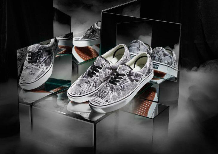 Vans lanza colección de tenis de Harry Potter; calzado de periódico mágico El Profeta