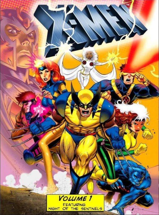 Poster del comic de los X-Men con todos los personajes principales