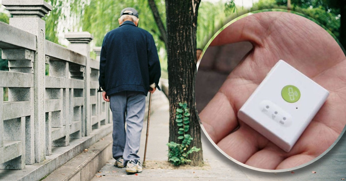 Zapatos con GPS para localizar a adultos mayores con demencia