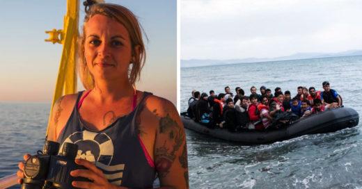 Alemana pasaría 20 años de prisión por rescatar migrantes en el mar